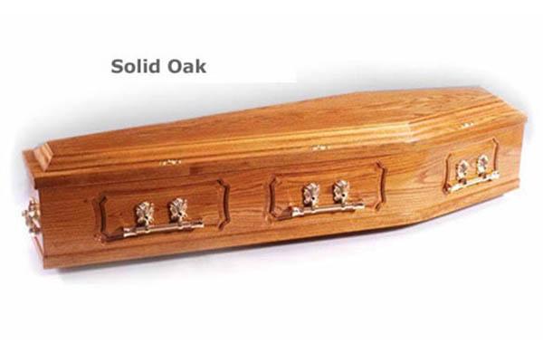 Solid Panelled Oak